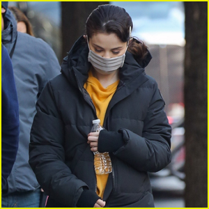 Selena Gomez Masks Up While on Set of 'Only Murders In The Building'