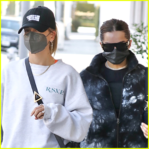 Addison Rae Joins Hailey Bieber For Brunch In Los Angles