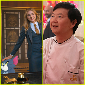 Chloe Moretz, Ken Jeong & More Star In New 'Tom & Jerry' Photos!