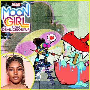 Disney Channel Announces Cast For New Show 'Marvel's Moon Girl & Devil Dinosaur'!