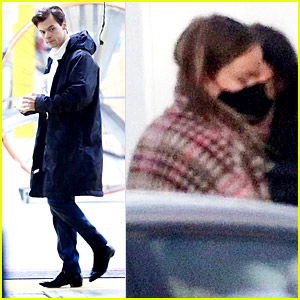 Harry Styles Suits Up on 'Don't Worry Darling' Set, Olivia Wilde Also Spotted