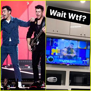 Joe Jonas Jokes He's Upset About Learning of Nick's New Solo Single 'Spaceman'