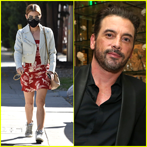 Lucy Hale Runs Errands After Skeet Ulrich Leaves Flirty Comment On Her Instagram