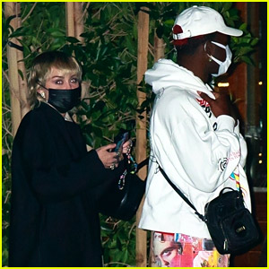 Miley Cyrus Spotted at Dinner with Lil Nas X & Friends
