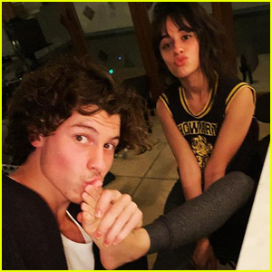 Shawn Mendes Shared a Photo Kissing Girlfriend Camila Cabello's Foot in Honor of Valentine's Day