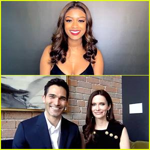 'Arrowverse' Stars Javicia Leslie, Tyler Hoechlin & Bitsie Tulloch Present at Critics' Choice Awards 2021