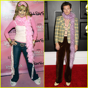 Ashley Tisdale Reacts To Fans Saying She Inspired Harry Styles' Grammys Look
