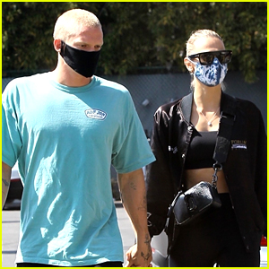 Cody Simpson & Girlfriend Marloes Stevens Hit Up a Workout Together
