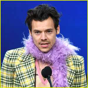 Harry Styles Wins His First Ever Grammy, Lizzo Congratulates Him!