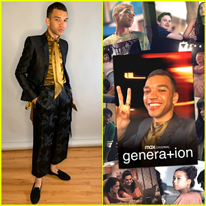 Justice Smith & Co-Stars Attend Virtual 'Genera+ion' Premiere - See The Photos!
