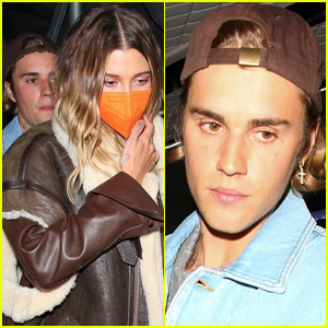 Justin & Hailey Bieber Attend 'Justice' Album Release Party in West Hollywood