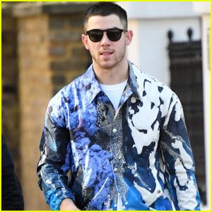 Nick Jonas Rocks Shades For His Walk Around London