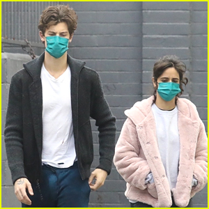Shawn Mendes & Camila Cabello Take Their Dog To The Groomers Together