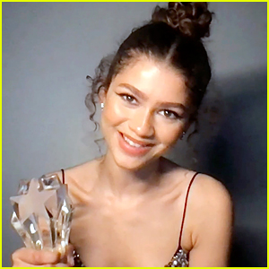Zendaya Is 'Incredibly Grateful' For SeeHer Award at Critics Choice Awards 2021