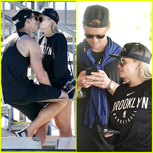 Alli Simpson Packs On The PDA With Boyfriend Mitchell Lambert