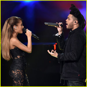Ariana Grande & The Weeknd Team Up for 'Save Your Tears' Remix - Listen Now!