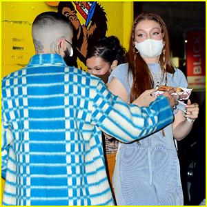 Gigi Hadid & Zayn Malik Celebrate Her Birthday Together in NYC (Photos)