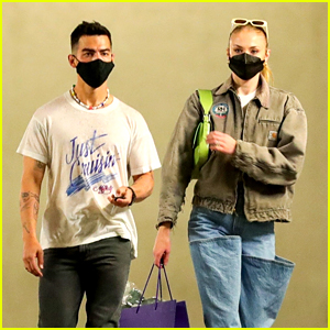 Joe Jonas & Sophie Turner Do a Bit of Shopping Together in LA