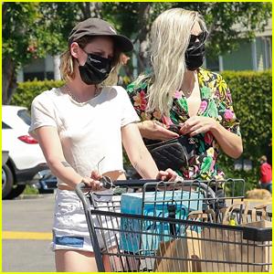 Kristen Stewart Goes Grocery Shopping on Her 31st Birthday