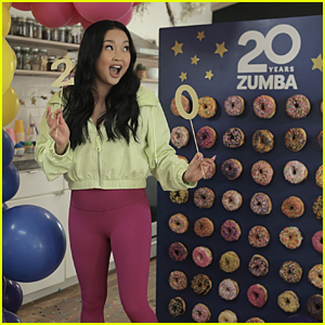 Lana Condor Celebrates Zumba's 20th Birthday On International Dance Day!