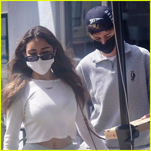 Madison Beer & Boyfriend Nick Austin Step Out For Midweek Lunch