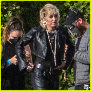 Miley Cyrus Rocks All Leather Outfit for New Photo Shoot