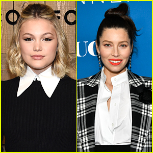 Olivia Holt Gushes Over Working With Producer Jessica Biel