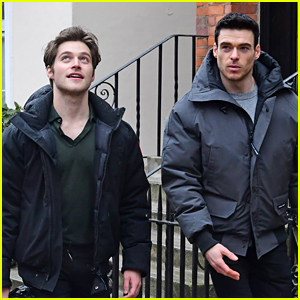 Cruel Summer's Froy Gutierrez Steps Out in London with Richard Madden - New Pics!
