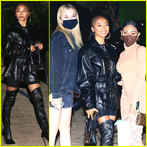 Skai Jackson Celebrates Her 19th Birthday a Few Feet Away From Nicki Minaj!