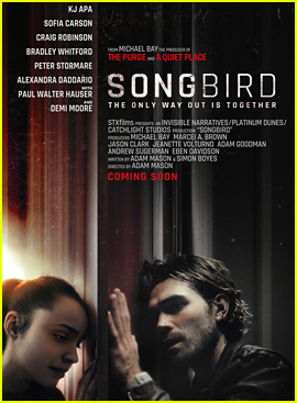 Sofia Carson & KJ Apa's Pandemic Thriller 'Songbird' Is Coming to Hulu!