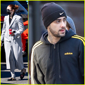 Gigi Hadid & Zayn Malik Step Out Separately After a Family Trip To The Aquarium