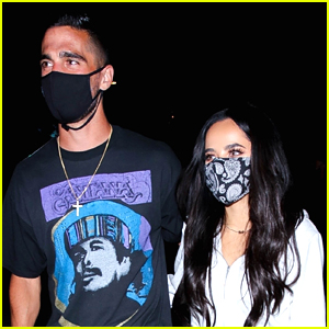 Becky G Goes to Dinner With BF Sebastian Lletget After 'Latin Grammys Women In Music' Performance
