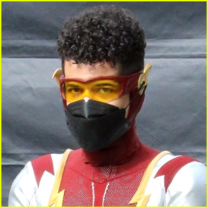 Jordan Fisher Suits Up As Impulse In These 'The Flash' First Look Photos!