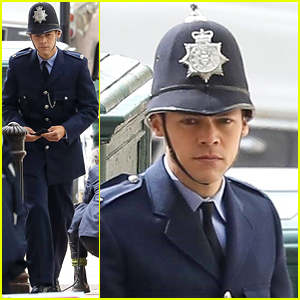 Harry Styles Gets Into Character In First 'My Policeman' Set Photos!