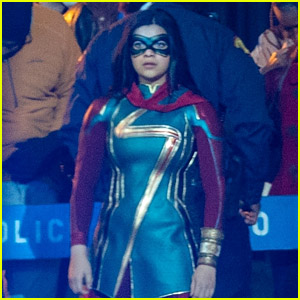 Iman Vellani Suits Up as Ms. Marvel in These Awesome New Photos!
