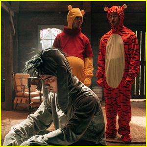 Jonas Brothers Dress As 'Winnie the Pooh' Characters For Disney Origin Stories With James Corden