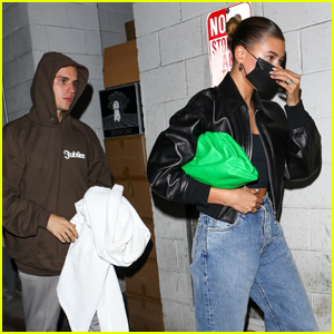 Justin Bieber Enjoys a Low-Key Dinner Date with Wife Hailey