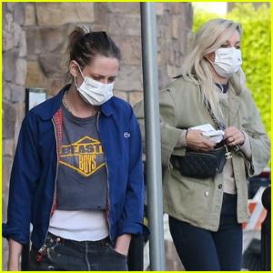 Kristen Stewart Goes on a Grocery Run with Girlfriend Dylan Meyer