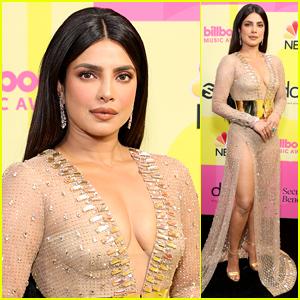Priyanka Chopra Goes Gold at the Billboard Music Awards 2021