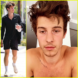 Shawn Mendes Shares Shirtless Video After Morning Workout