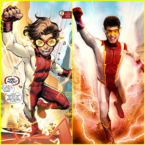 The CW Unveils First Official Look at Jordan Fisher as Impulse on 'The Flash' (Photos)