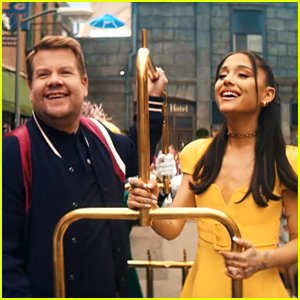 Ariana Grande & James Corden Sing About 'No Lockdowns Anymore' In New Musical Parody - Watch!