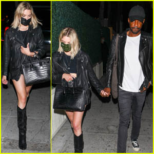 Ashley Benson Rocks a Leather Jacket for Her Night Out in L.A.