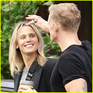 Cody Simpson & Marloes Stevens Share Cute Moment While Out For Coffee
