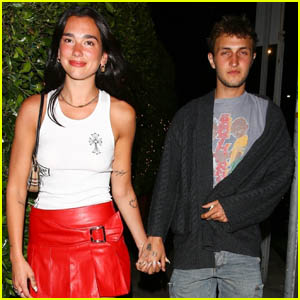 Dua Lipa & Anwar Hadid Are All Smiles After Their Date Night in Santa Monica!
