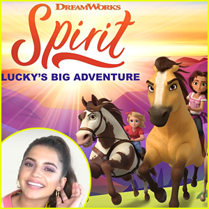 Isabela Merced Reacts To New 'Spirit Lucky's Big Adventure' Game & Dishes On Voicing Lucky! (Exclusive)