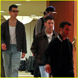Jonas Brothers Spotted After Working on New Project