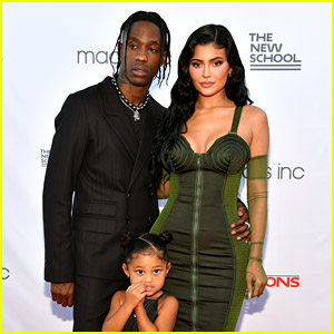 Kylie Jenner & Daughter Stormi Support Travis Scott at NYC Event!