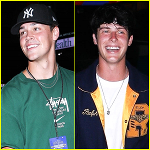 Noah Beck, Blake Gray & More Step Out To Support Friends at Boxing Event