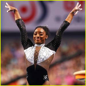 Simone Biles Becomes 7-Time All-Around US Gymnastics Champion!